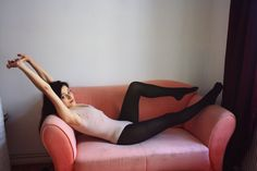 Photograph by Sigrun Guggenberger. Model Maria Ferlopez wearing Wolford Tulle Drape String Body.