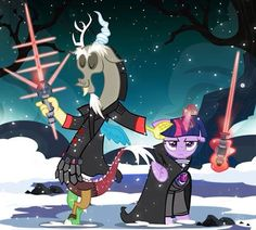 discord and twilight sparkle