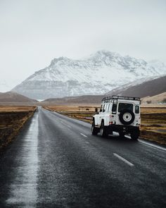 Driving through Iceland @louisewarnez
