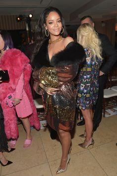 Rihanna in Moschino.