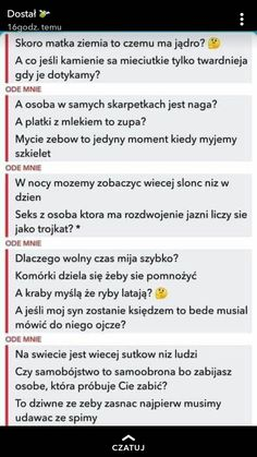 Very Funny Memes, True Memes, Wtf Funny, Funny Stories, True Stories, Funny Lyrics, Polish Memes, Funny Mems, Everything And Nothing