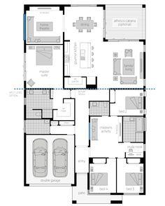 28 X 48 House Plans Elegant San Marino Luxurious New Home Minimalist House Design, Minimalist Home, Ranch House Plans, House Floor Plans, Mcdonald Jones Homes, Activity Room, Home Cinemas, Story House, Home Reno