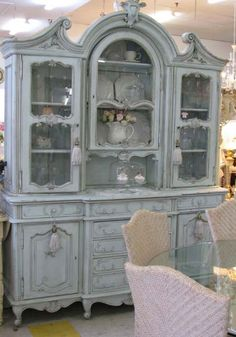 Country Interiors - French Dresser
