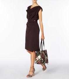 Brown New Case Dress