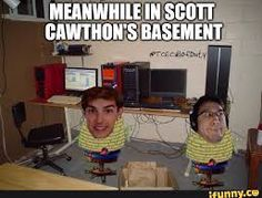 Lol mark and matpat are trapped in his basement.Doomed forever to play or theorise FNAF