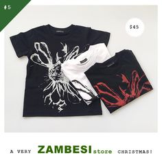 """selected by Zoe Walker! """"Zambesi kids t-shirts for my nephews!"""" ZAMBESI sunflower kids tees are now available in all stores x The Selection, Tees, Christmas, T Shirt, Women, Fashion, Xmas, Supreme T Shirt, Moda"""