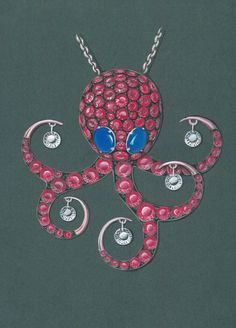 octopus sketch. #octopusdrawing  #jewelrysketches