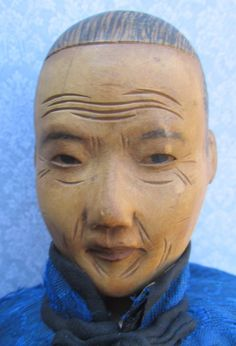 Antique Chinese Door Of Hope Mission Doll   Grandmother   11 1/2  c1900  | eBay