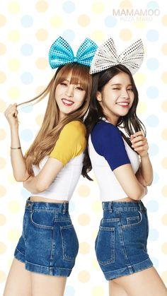 Moonbyul and Solar MoonSun Mamamoo