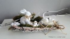 Easter Tree, Easter Wreaths, Diy Wedding Shoes, Easter Crafts, Projects To Try, Origami, Diy Crafts, Floral, Christmas
