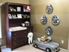 vintage car nursery