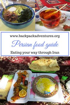 Iran - This Persian food guide is about the best dishes in Iranian cuisine and the best places to eat them. Including breakfast, soups, kebabs, stews, and sweets.Eat your way through Iran and don't miss out on the delicious food.
