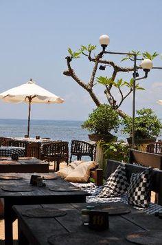 TOOTSIES (Sanur) - JJl. Pantai Sindhu   Baruna Beach Market, Sanur Trip Planner, Travel Planner, Sanur Beach Bali, Denpasar, Trip Advisor, Restaurant, Patio, Outdoor Decor, Home Decor