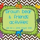 This little Brown Bear packet has all the patterns for a Brown Bear & Friends texture book (as seen on our blogs).  Plus there is a cut and paste m...