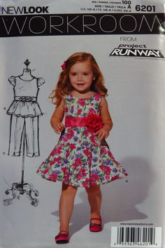 a4d9545fb20 38 Best New Look Girls  Toddlers  Babies  Sewing Pattern Collection ...