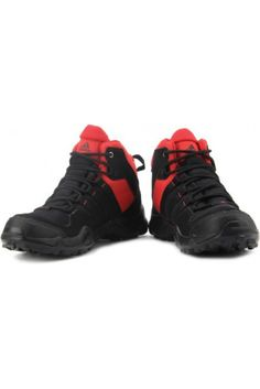 Try this classy pair of Black Adidas shoes for men to  appear suave and sophisticated.  #menssportsshoes #adidasshoes #sportsshoesformen #mensfootwear https://trendybharat.com/men-fashions/footwear/mens-footwear-sport/men-adidas-outdoor-ax2-mid-shoes-ae2200?mfp=3f-brand%5B931%5D