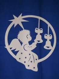 Resultado de imagen para weihnachten fensterbild Christmas Wood, Christmas Angels, Christmas Crafts, Christmas Decorations, Scroll Pattern, Scroll Saw Patterns, Kirigami, Wood Ornaments, Holiday Ornaments