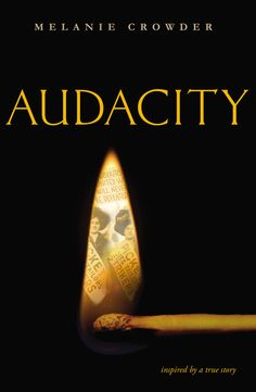 AUDACITY by Melanie Crowder -- The inspiring story of Clara Lemlich, whose fight for equal rights led to the largest strike by women in American history.