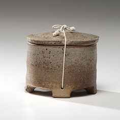 Byron Temple | Lidded canister.