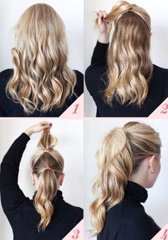 How to make your hair look longer and prettier!