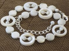Natural Ivory Shell Anklet Beach Wedding by sweetdreamzdesigns, $13.95