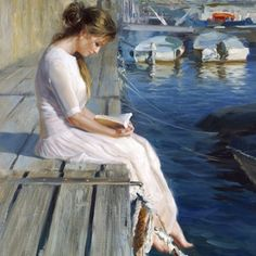 Vladimir Volegov oil painting