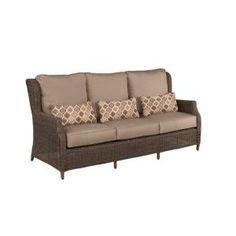 Brown Jordan Vineyard Patio Sofa-D11097-S at The Home Depot
