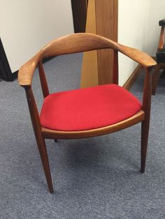 """The Chair"" by Hans Wegner was designed in 1948 and was constructed by Johannes Hansen. 