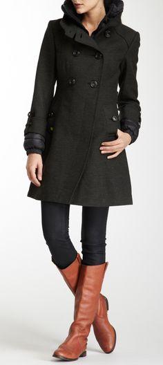 Winter coat + boots