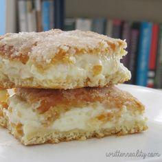 Lemon Cream Cheese Bars - Written Reality