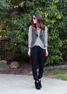 .stripes + vest.