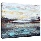 Found it at Wayfair - 'Abstract Cold' by Jolina Anthony Painting Print on Canvas
