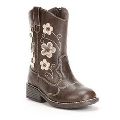 not sure if I like these or not SONOMA life + style Western Boots - Toddler Girls