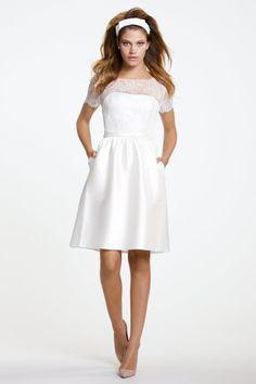 Encore Dress Bobbi #Watters #rehearsaldress #bridalshower  http://www.pinterest.com/wattersdesigns/ (Bridal Shower Dress/ Rehearsal Dinner/ Exit Dress/Honeymoon Dress)