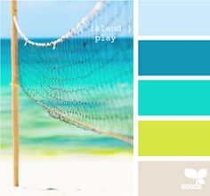 Palette of color holidays