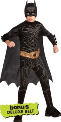 Boys Batman Costume - The Dark Knight Rises