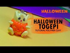 Halloween Togepi Polymer Clay Tutorial / Arcilla polimérica - YouTube