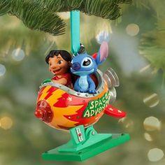 Disney Lilo and Stitch Christmas Ornament