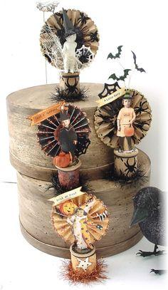 Trash to Treasure Art: Goolie Spoolies