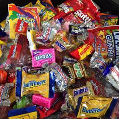 Who's ready for Halloween?! We're stocked up on candy!