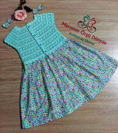 Crochet Girls Crochet Bebe Crochet For Kids Sewing For Kids Baby Gown Crochet Baby Booties Baby Girl Dresses Baby Crafts Crochet Designs Boy Crochet Patterns, Crochet Baby Dress Pattern, Baby Dress Patterns, Crochet Fabric, Crochet Dress Girl, Baby Girl Crochet, Crochet Baby Clothes, Crochet Toddler, Crochet For Kids