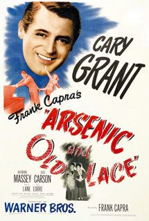 Arsenic and Old Lace is a funny film. Cary Grant did a great job in this film. Old Movie Posters, Classic Movie Posters, Cinema Posters, Classic Movies, Film Posters, Classic Comedies, Cary Grant, See Movie, Movie List
