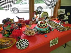 Disney Cars Birthday Party Ideas | Photo 10 of 53 | Catch My Party