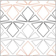 """Horizon© 2015 Patricia E. Ritter & Leisha FarnsworthA single row is 8.5"""" wide– printed with two rows – 144"""" long1 Split triangle measuresapproximately 6.5""""W x 4""""H* This design is available in both paper and digital. Please select your preference below. NOTE:   All digital designs include the following conversions:  CQP, DXF, HQF, IQP, MQR, PAT, QLI, SSD, TXT, WMF and 4QB or PLT. Most designs also include a DWF, GIF and PDF. This pattern was converted by Digitech."""