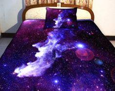 Galaxy Bedding- ($148) - etsy.com