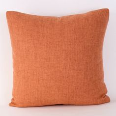 Tangerine Delight Pillow