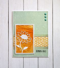 Sending Hugs by Kalla Walla - Cards and Paper Crafts at Splitcoaststampers Sending Hugs, Monthly Themes, Old Paper, Simon Says Stamp, Watercolor Techniques, Girl Blog, Distress Ink, Petunias