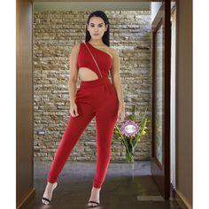 f51af04c3a01 Across My Chest Jumpsuit - Luxe Aloure South Actress