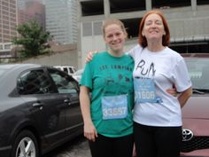 BEFORE the Flying Pig 5k...our annual race together...May 2012