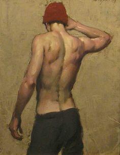 monsieurlabette:  Man's Back - Malcolm T. Liepke